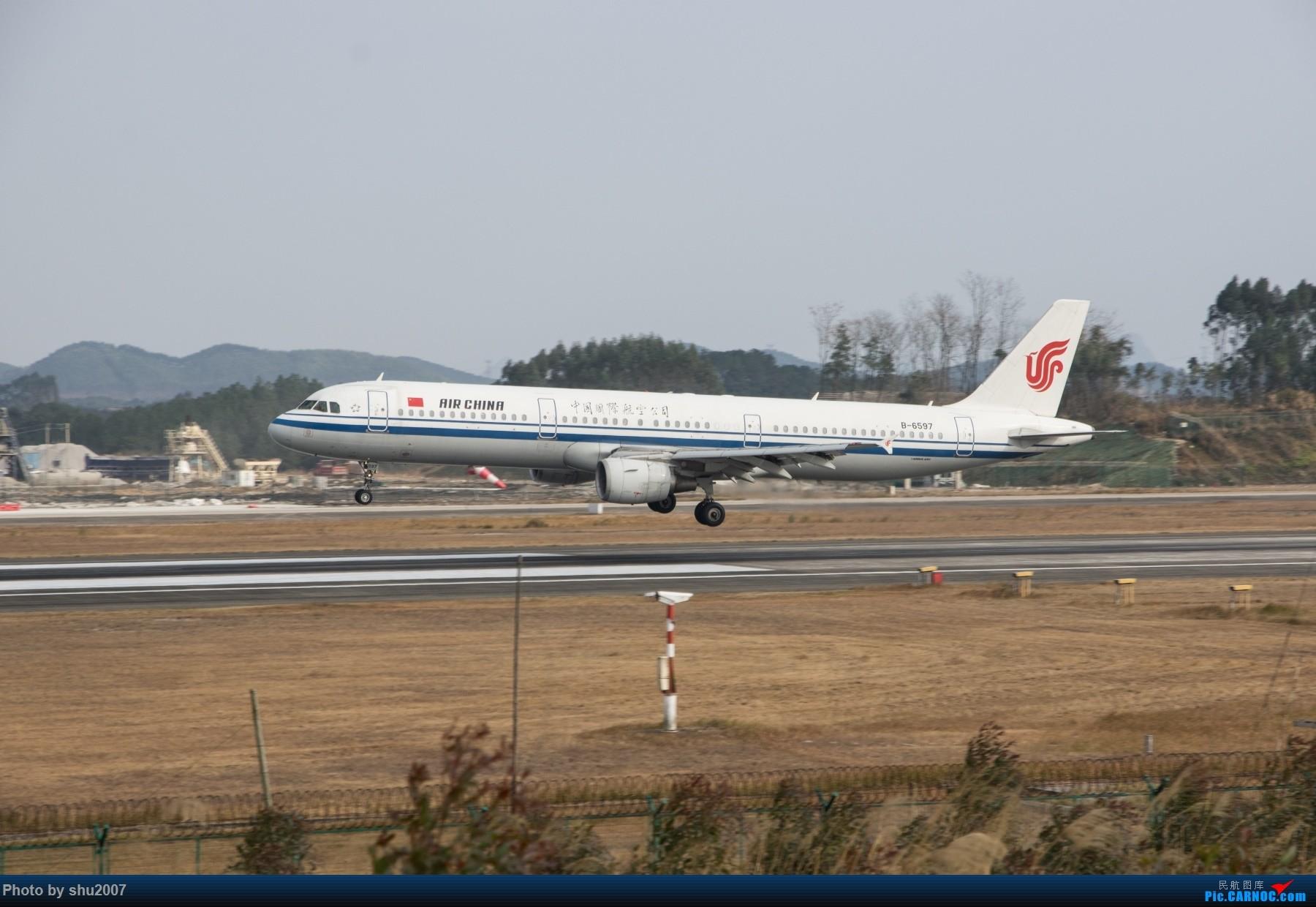 Re:[原创]发些桂林机场 AIRBUS A321-200 B-6597 中国桂林两江国际机场
