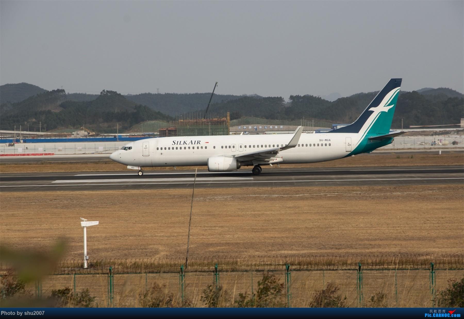 Re:[原创]发些桂林机场 BOEING 737-800 9V-MGA 中国桂林两江国际机场