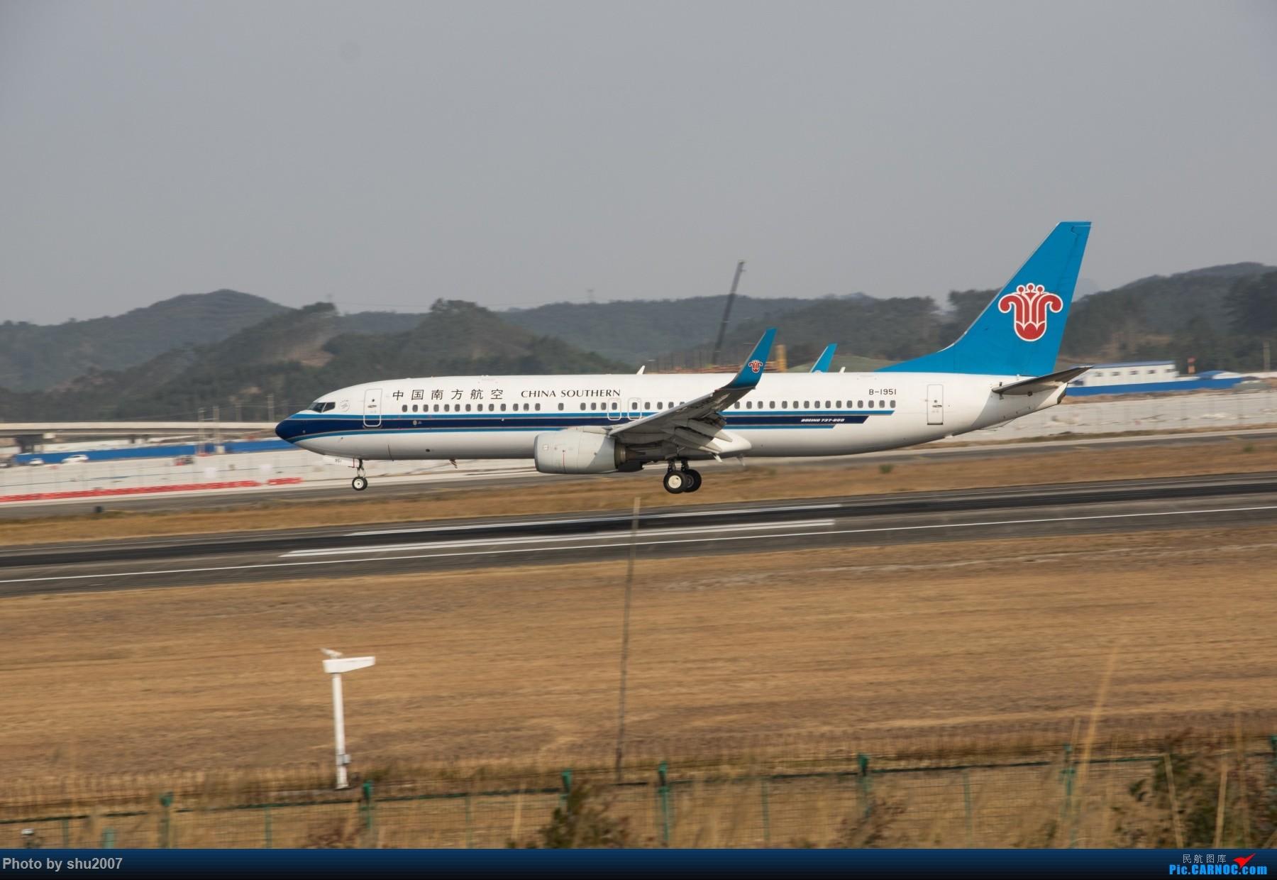 Re:[原创]发些桂林机场 BOEING 737-800 B-1951 中国桂林两江国际机场
