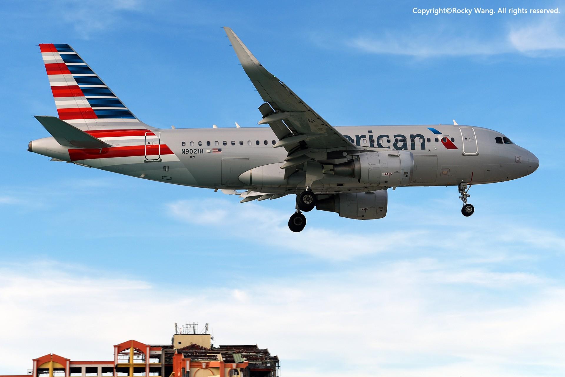 Re:[原创]My endless Caribbean dream——圣马丁朱莉安娜公主机场拍机记 AIRBUS A319-115 N9021H 荷属安的列斯群岛朱利安娜公主机场