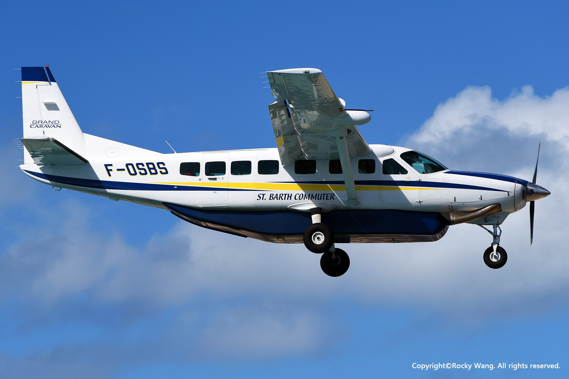 Re:[原创]My endless Caribbean dream——圣马丁朱莉安娜公主机场拍机记 CESSNA 208B GRAND CARAVAN F-OSBS 荷属安的列斯群岛朱利安娜公主机场