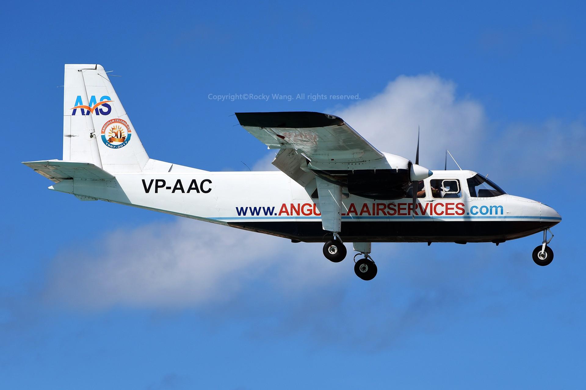 Re:[原创]My endless Caribbean dream——圣马丁朱莉安娜公主机场拍机记 BRITTEN-NORMAN BN-2A ISLANDER VP-AAC 荷属安的列斯群岛朱利安娜公主机场