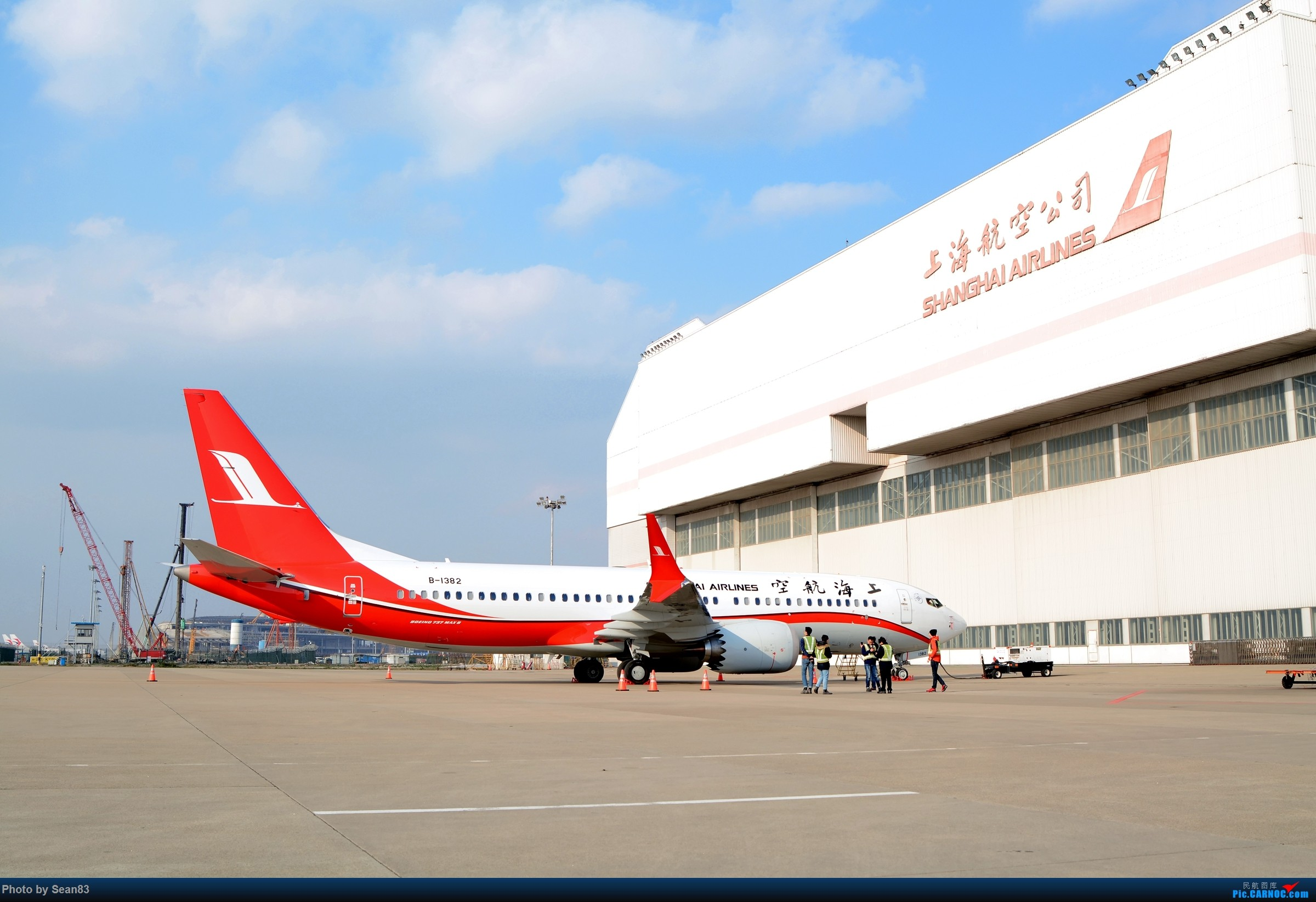 Re:来议论议论那家航空公司最好 BOEING 737MAX-8 B-1382 中国上海浦东国际机场