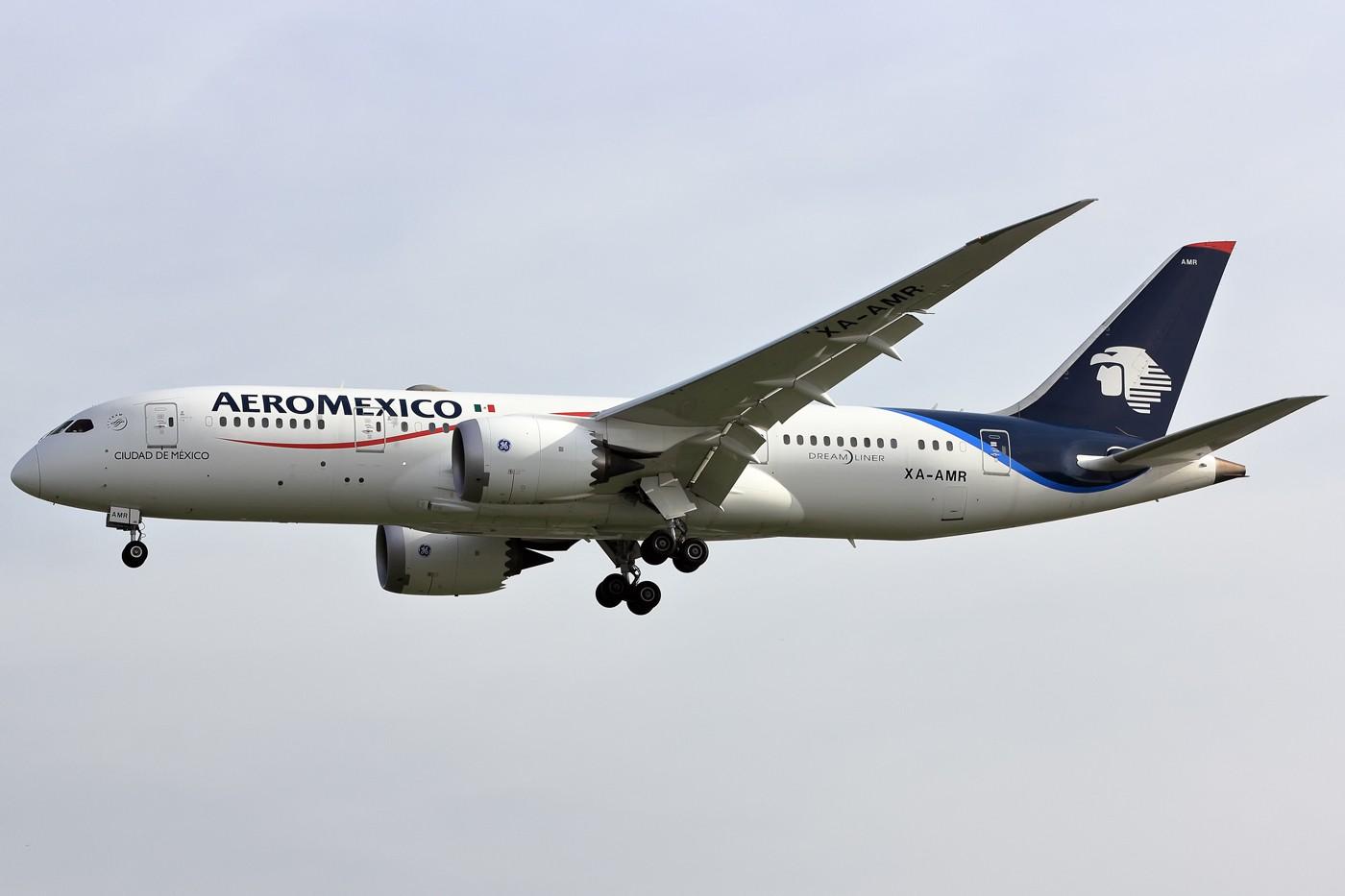 Re:[原创]那家的787好看 BOEING 787-8 XA-AMR 荷兰阿姆斯特丹史基浦机场