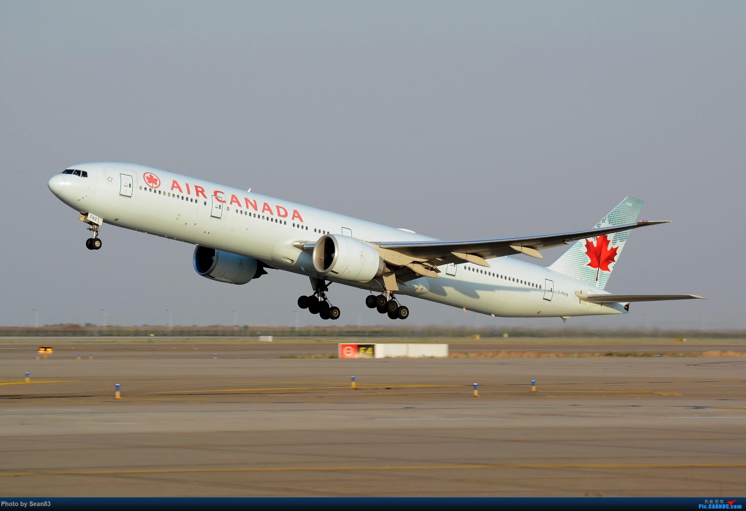 [原创](PVG)AC BOEING 777-300ER C-FIVS 中国上海浦东国际机场