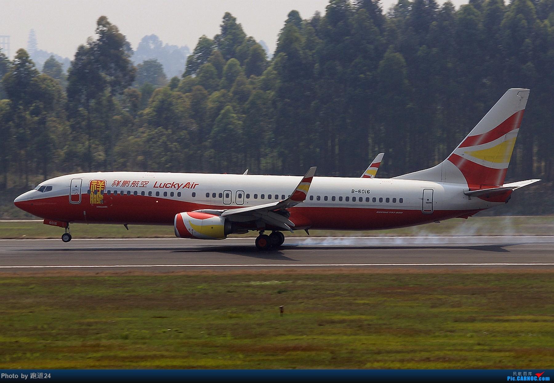 Re:[多图党]靓图一组 BOEING 737-800 B-6016 中国成都双流国际机场