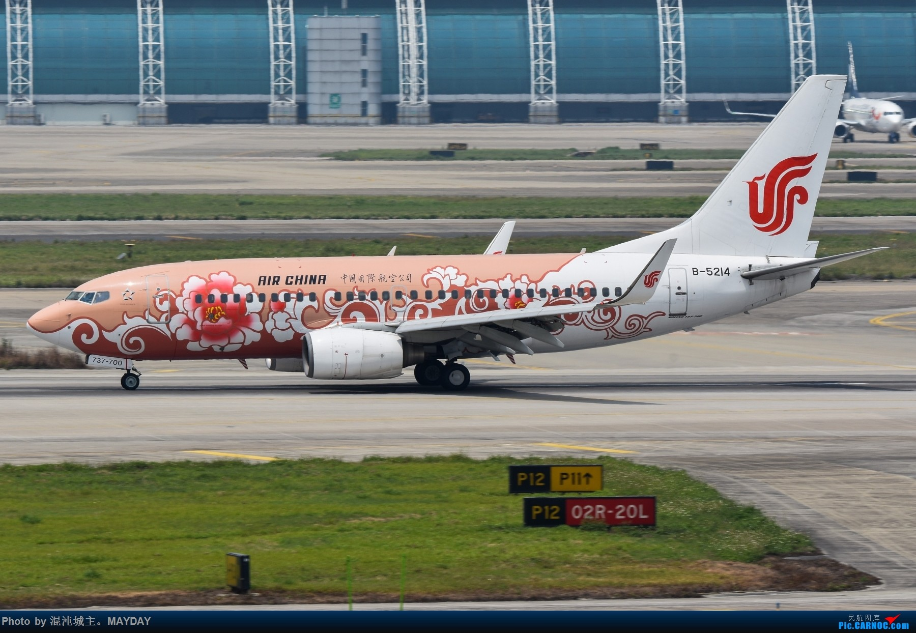 Re:[原创]广州的一些普通货. BOEING 737-700 B-5214 中国广州白云国际机场