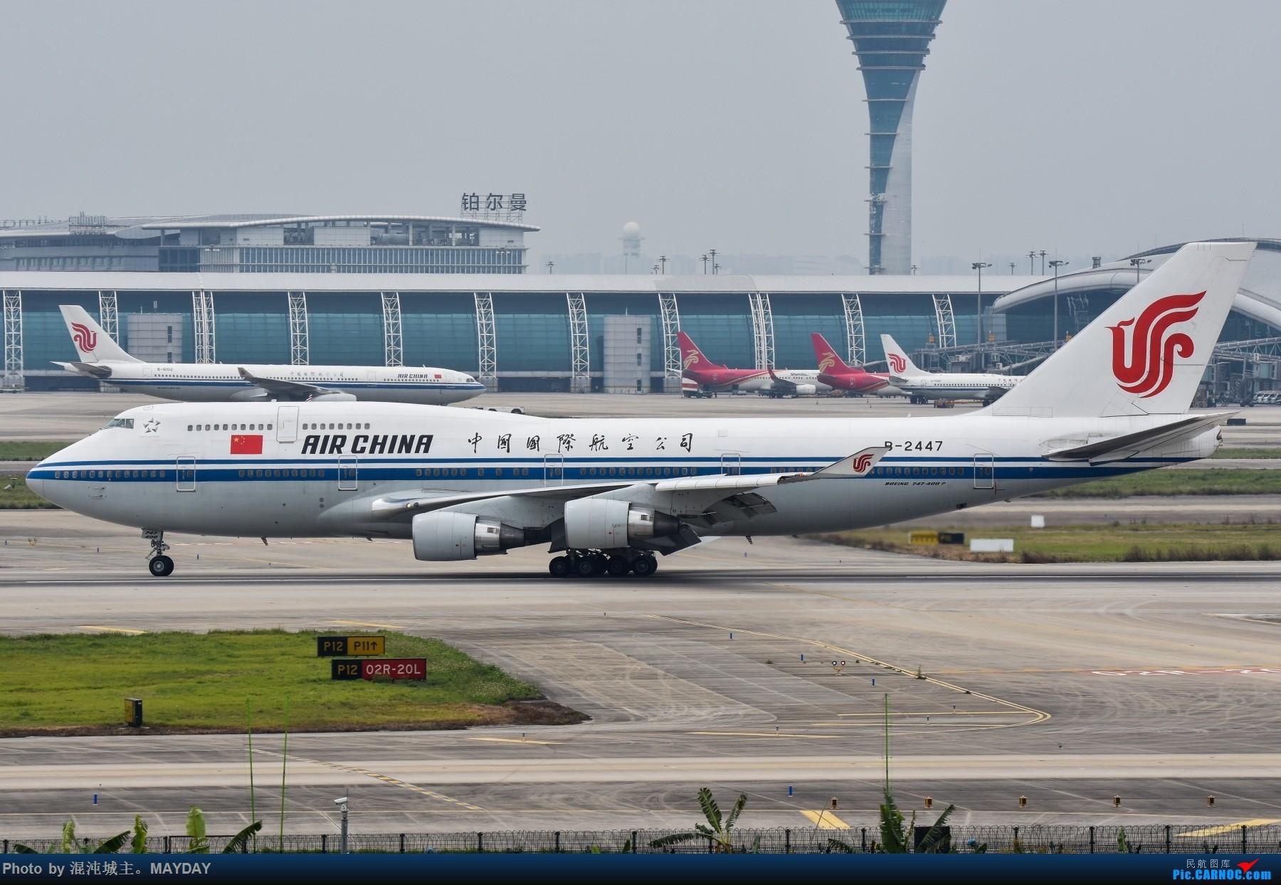 Re:[原创]广州的一些普通货. BOEING 747-400 B-2447 中国广州白云国际机场