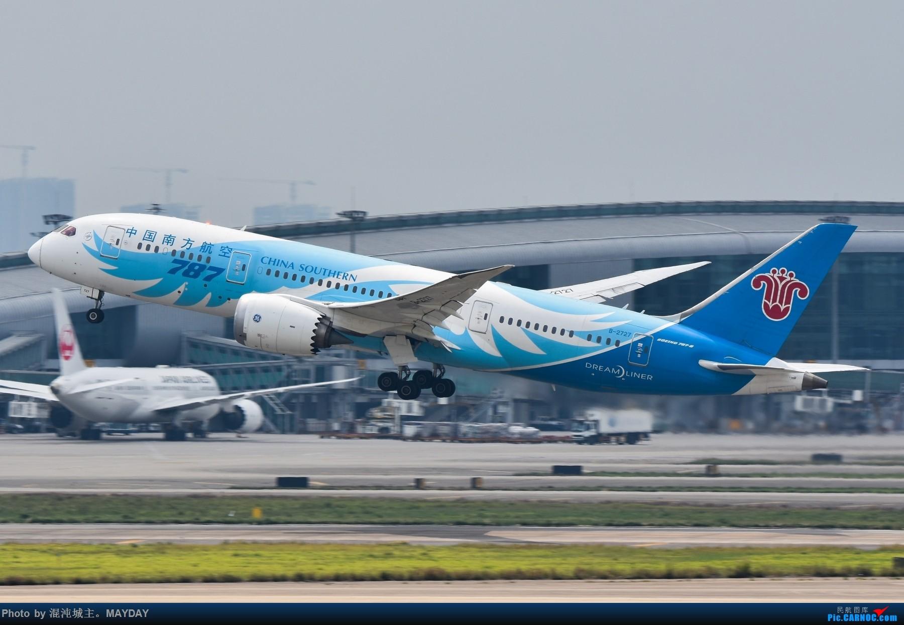 Re:广州的一些普通货. BOEING 787-8 B-2727 中国广州白云国际机场