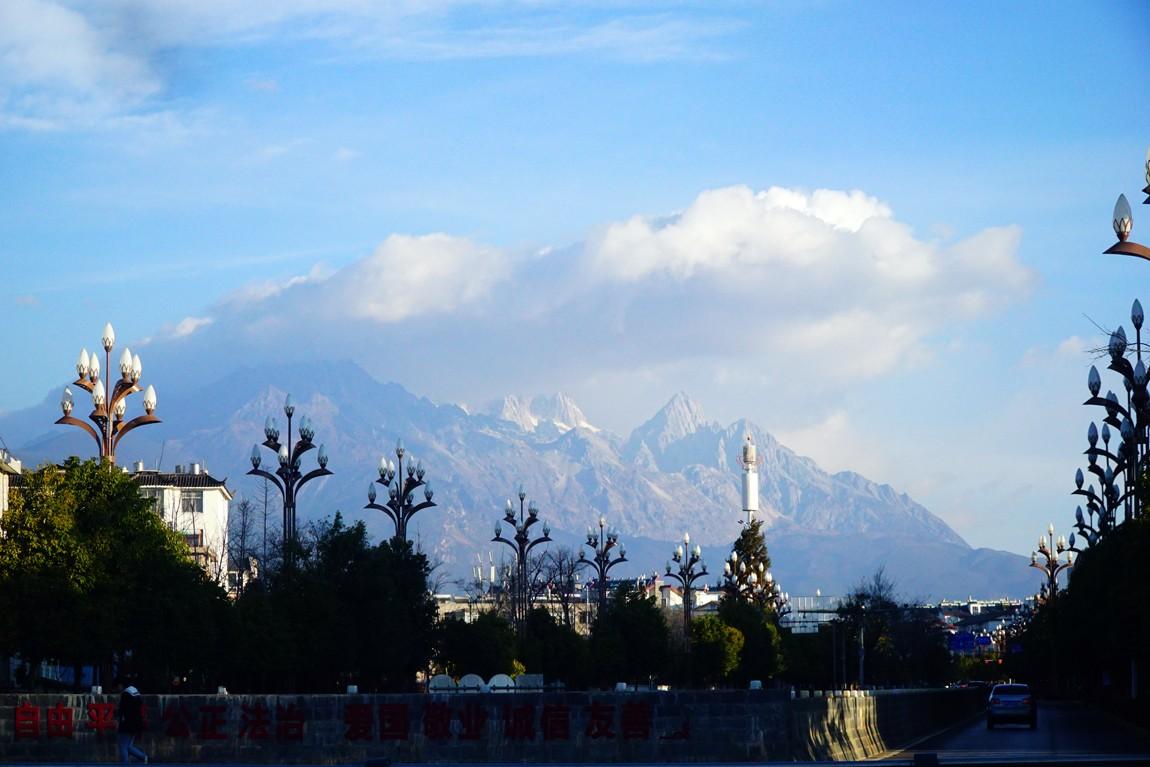 Re:[原创]玉龙雪山闪耀着银光,秀色丽江人在路上——春节云南之行