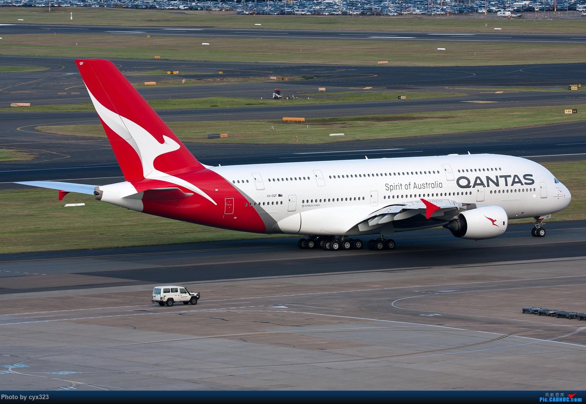 [原创]Qantas新涂装A380 [1920px] AIRBUS A380-800 VH-OQF 澳大利亚悉尼金斯福德·史密斯机场