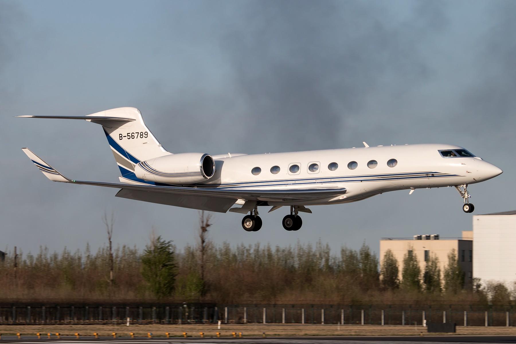 [原创]56789 vs AAAA GULFSTREAM AEROSPACE G650ER B-56789 中国北京首都国际机场
