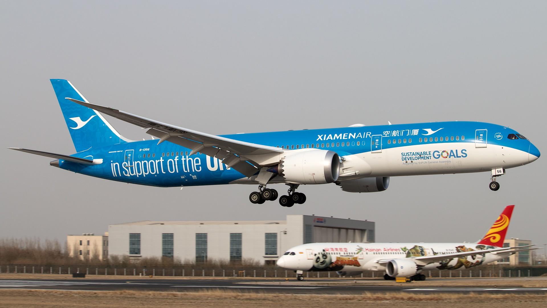 Re:[原创]杂图 1920*1280 [5P] BOEING 787-9 B-1356 中国北京首都国际机场