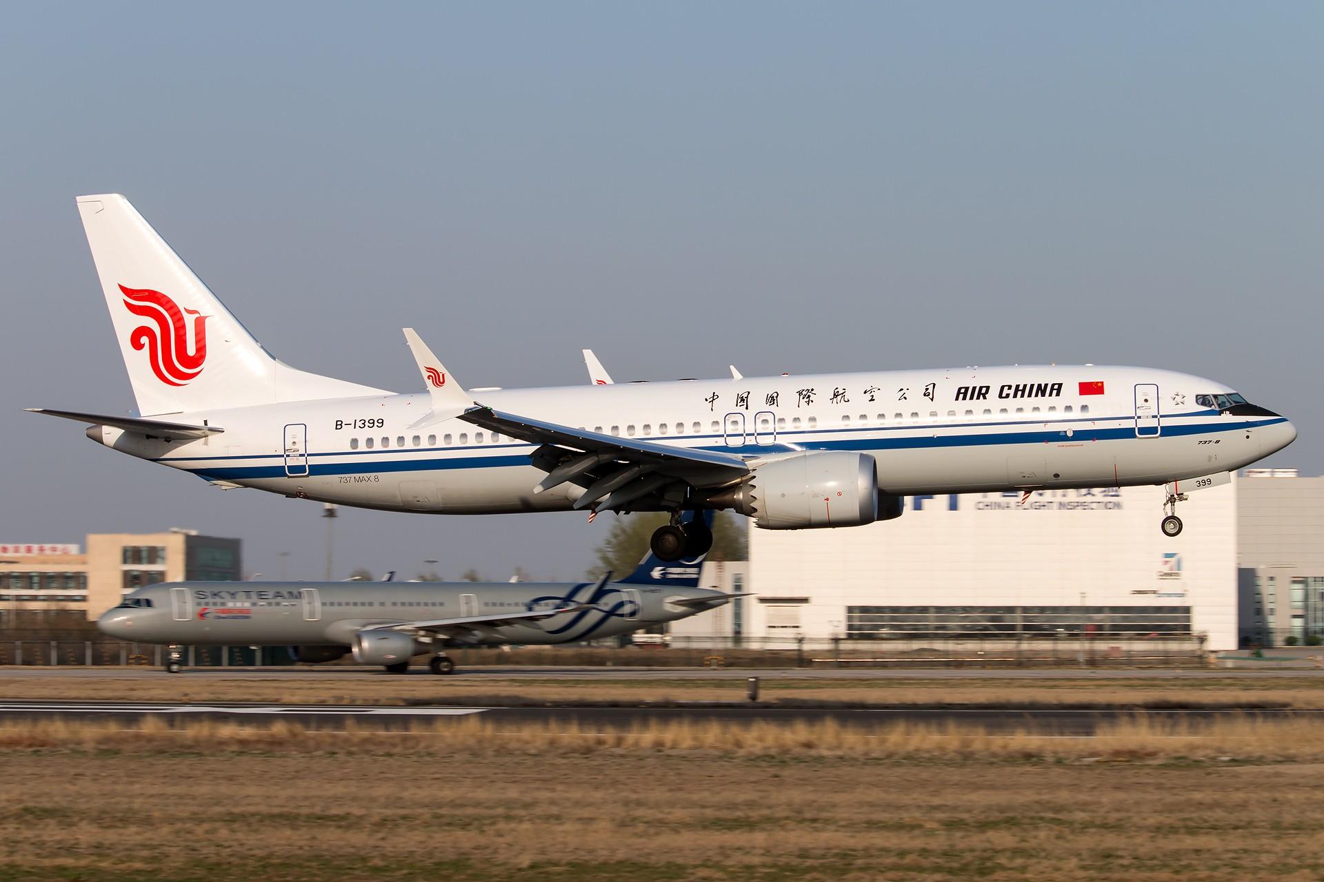 Re:杂图 1920*1280 [5P] BOEING 737MAX-8 B-1399 中国北京首都国际机场