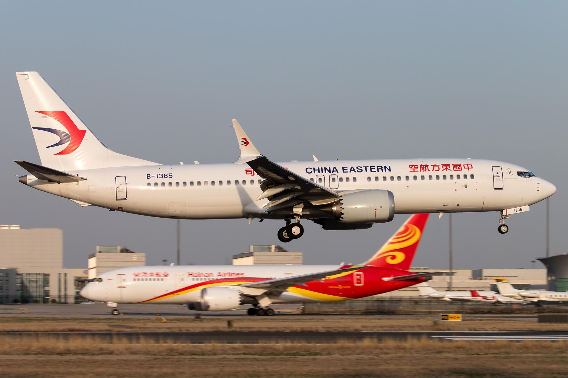 Re:[原创]杂图 1920*1280 [5P] BOEING 737MAX-8 B-1385 中国北京首都国际机场