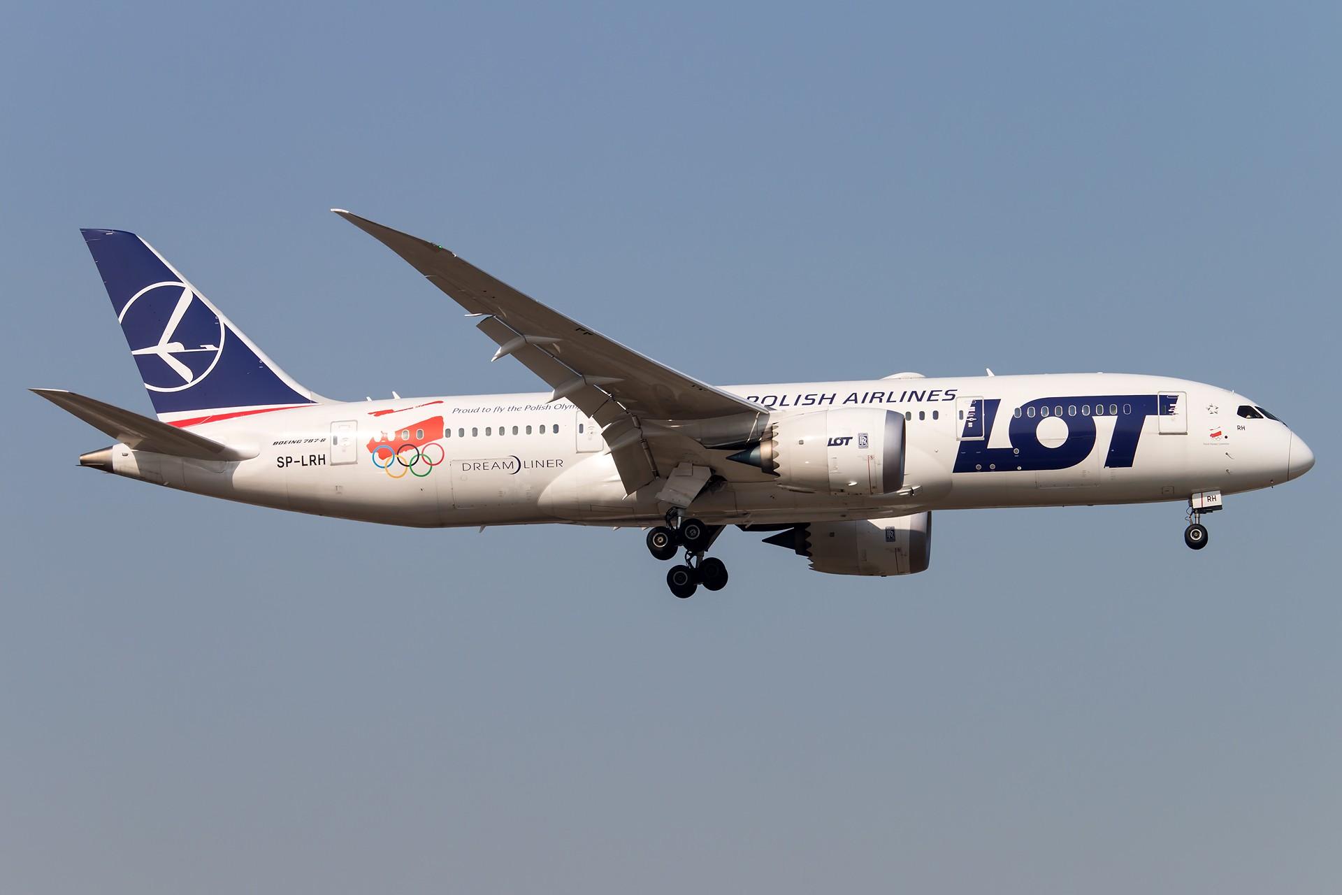 Re:[原创]阿联酋EXPO2020 & 波兰冬奥 BOEING 787-8 DREAMLINER SP-LRH 中国北京首都国际机场
