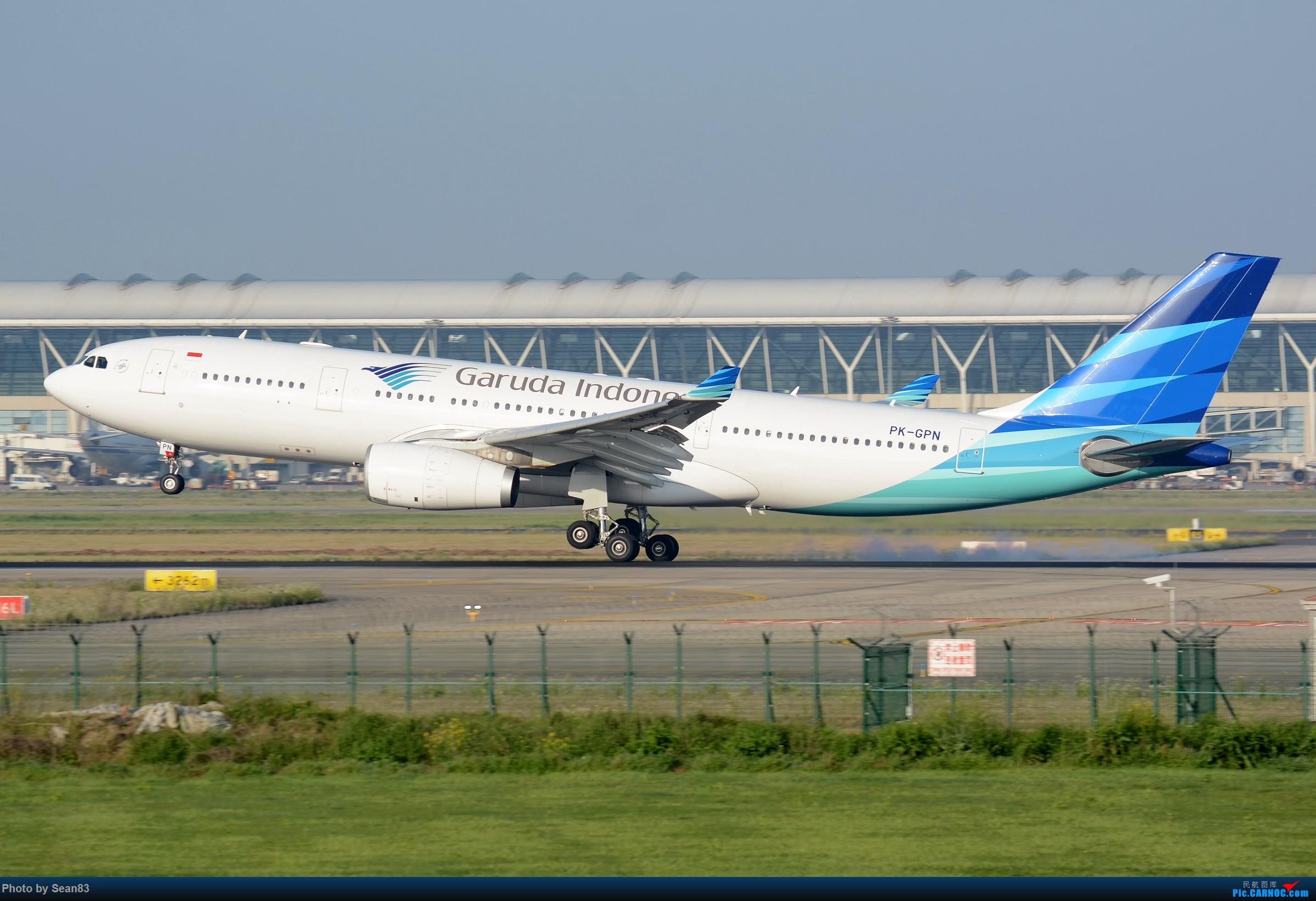 [原创](PVG)印尼 AIRBUS A330-200 PK-GPN 中国上海浦东国际机场