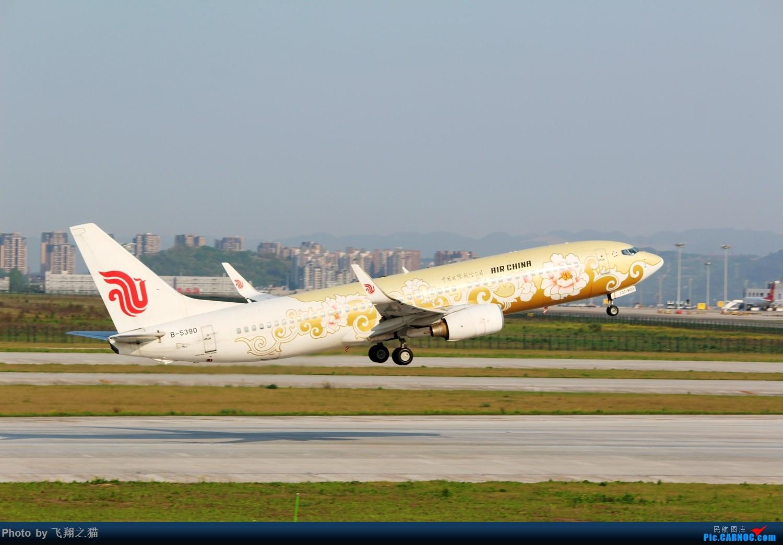 Re:[原创]CKG拍机(2018首战3跑,不为好货,只求过瘾) BOEING 737-800 B-5390 重庆江北国际机场