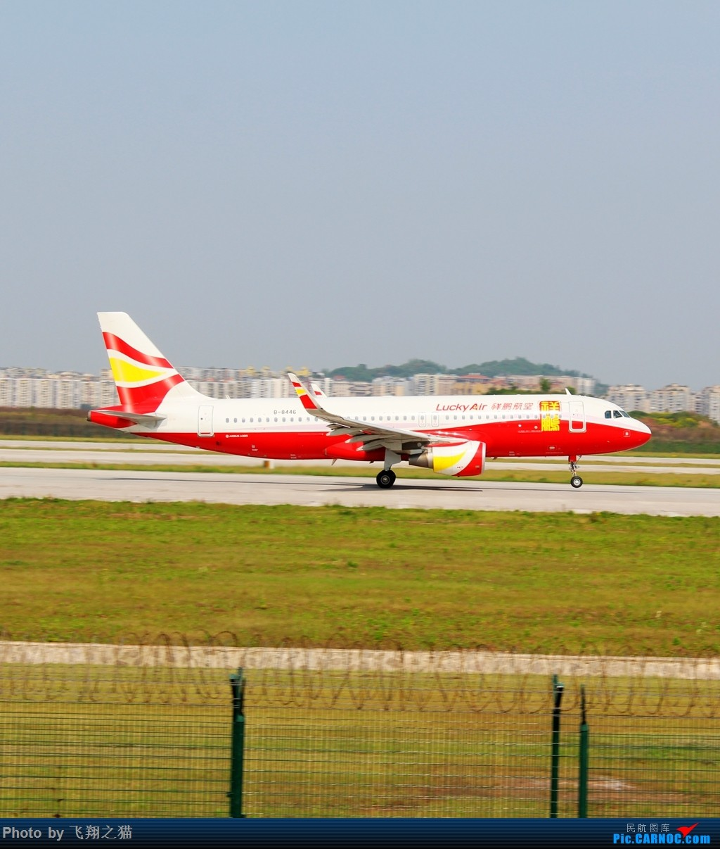 Re:[原创]CKG拍机(2018首战3跑,不为好货,只求过瘾) AIRBUS A320-200 B-8446 重庆江北国际机场