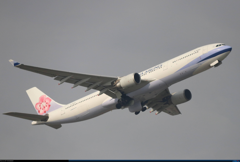 华航333虹桥机场起飞(B-18353) AIRBUS A330-300 B-18353 中国上海虹桥国际机场