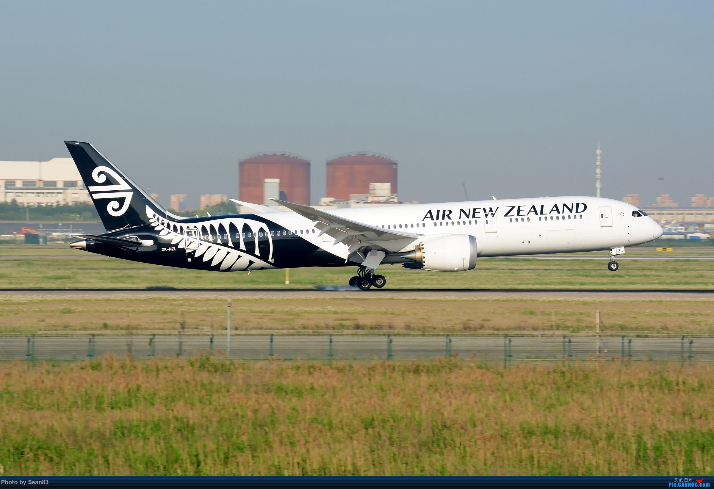 [原创](PVG) 黑白配 BOEING 787-9 ZK-NZL 中国上海浦东国际机场