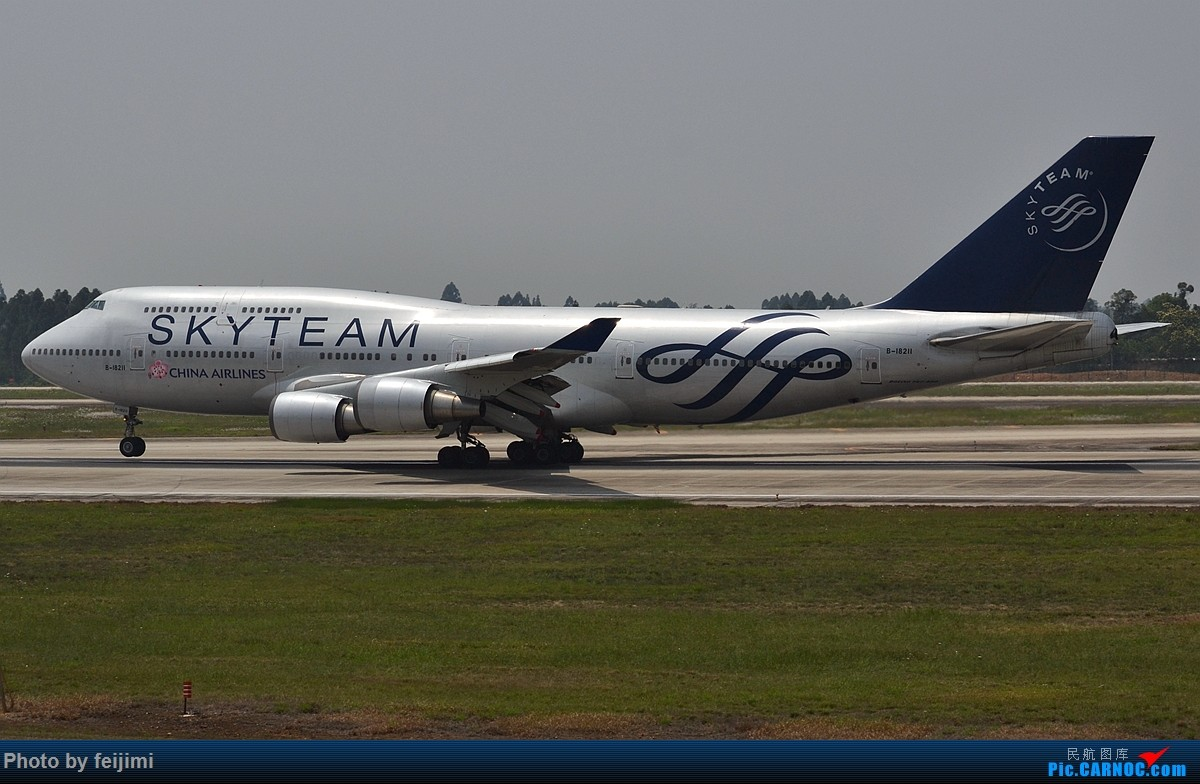 Re:【子安&拍机】五一假期 成卢兹 说走就走的拍机之旅 BOEING 747-400 B-18211 中国成都双流国际机场
