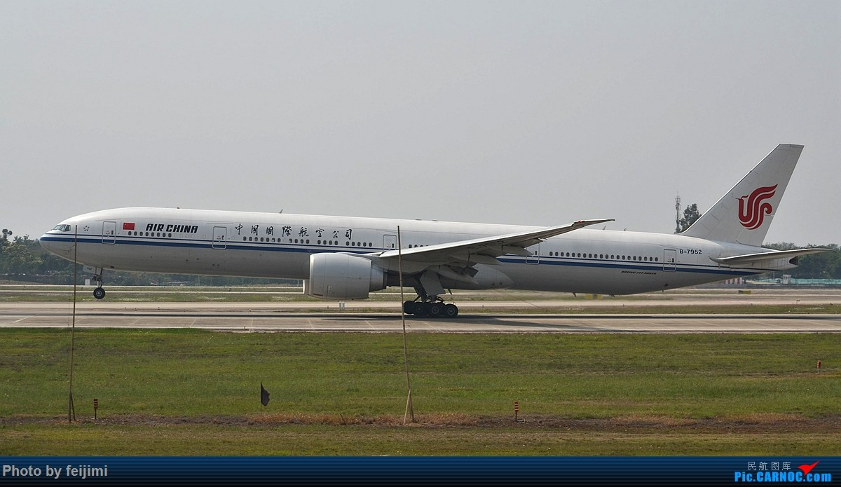 Re:[原创]【子安&拍机】五一假期 成卢兹 说走就走的拍机之旅 BOEING 777-300ER B-7952 中国成都双流国际机场