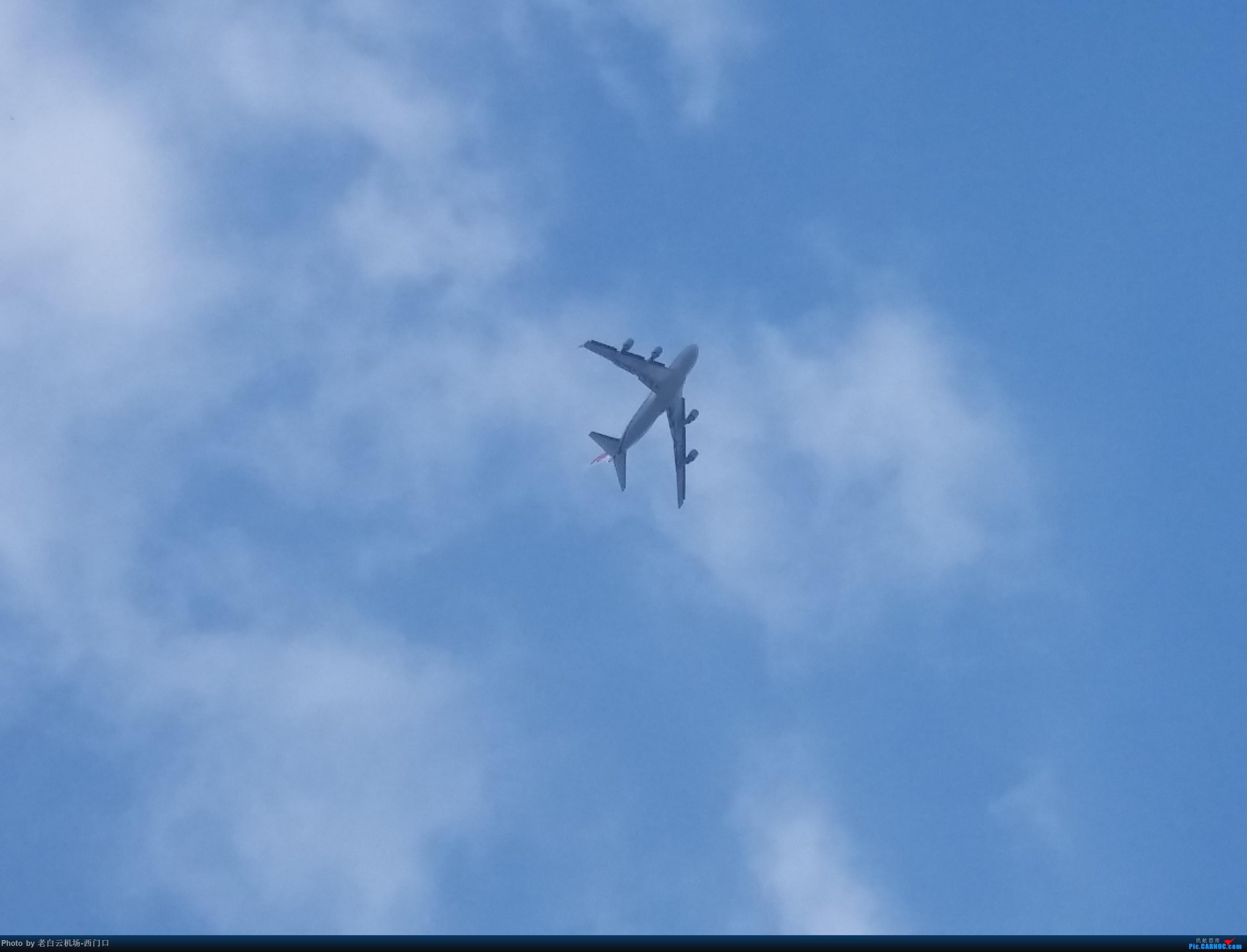 Re:[原创]【梁泽希拍机故事6】2017年第一、第二、第三次拍机和2018年第三次拍机(第二版) BOEING 747-400 不明 中国广东省广州市荔湾区西门口广场上空