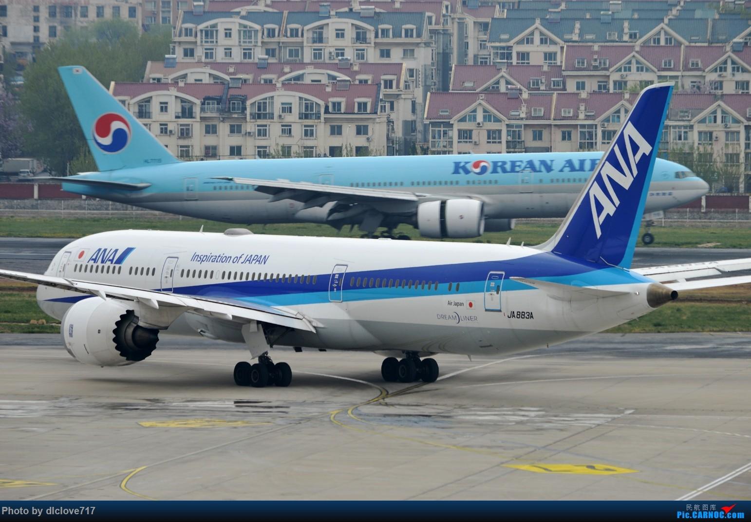 Re:【DLC】ANA789+烂天 BOEING 787-9 JA883A 大连周水子国际机场
