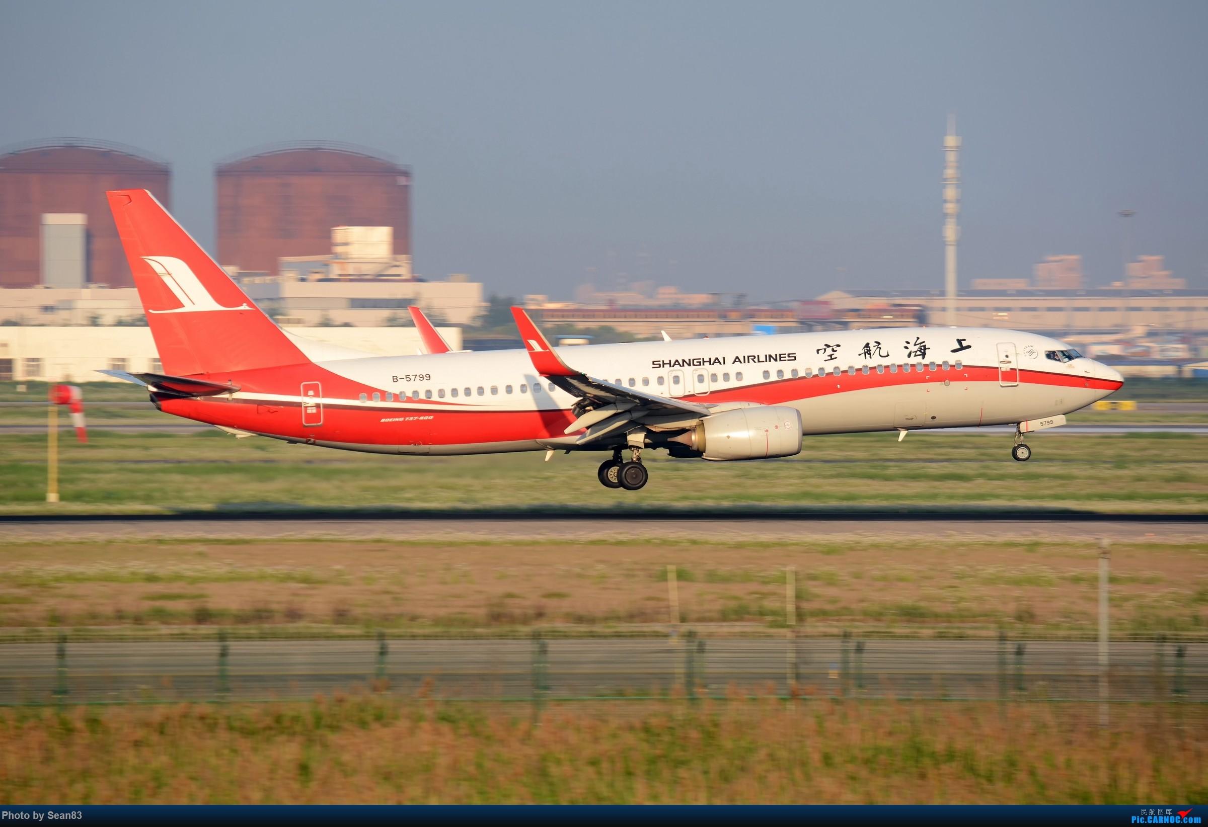 [原创](PVG) 晨 BOEING 737-800 B-5799 中国上海浦东国际机场