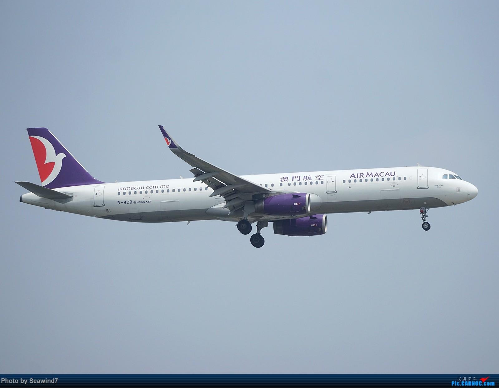 Re:[原创]新手的五一假期(含玩具总动员) AIRBUS A321-200 B-MCD 中国上海虹桥国际机场