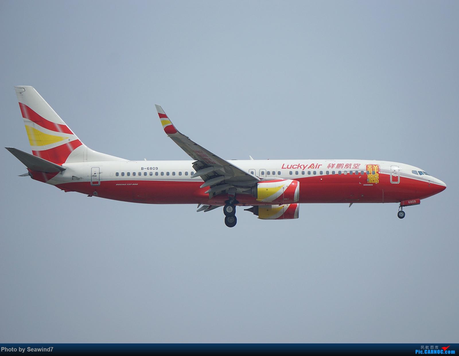 Re:[原创]新手的五一假期(含玩具总动员) BOEING 737-800 B-6809 中国上海虹桥国际机场