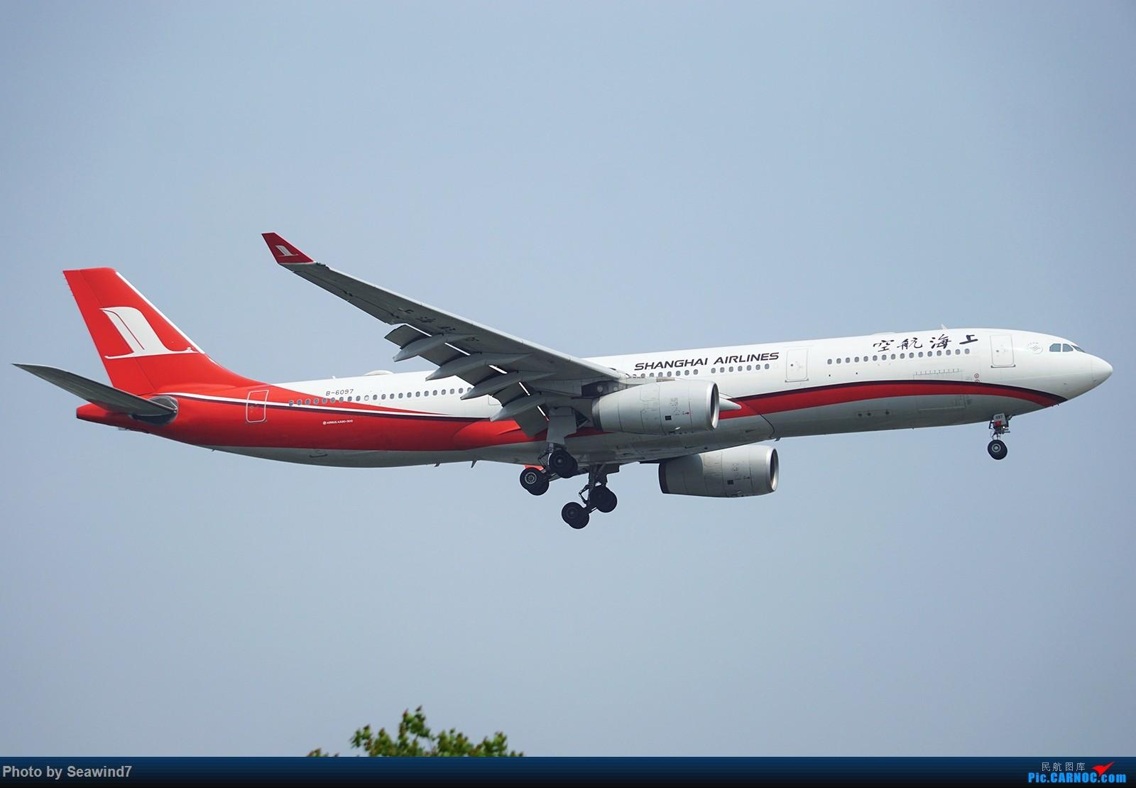 Re:[原创]新手的五一假期(含玩具总动员) AIRBUS A330-300 B-6097 中国上海虹桥国际机场