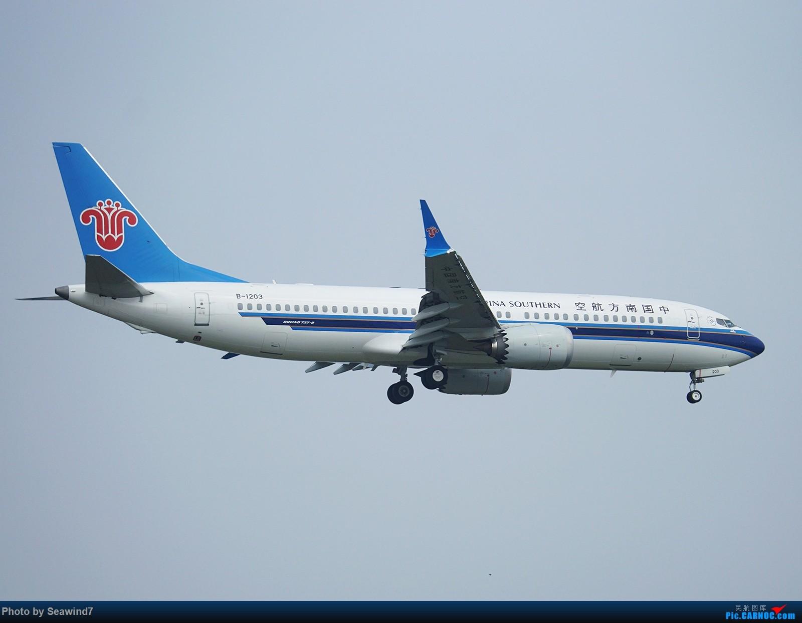 Re:[原创]新手的五一假期(含玩具总动员) BOEING 737MAX-8 B-1203 中国上海虹桥国际机场