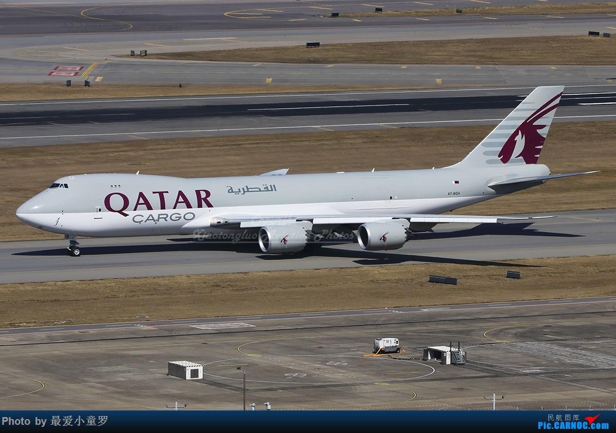 [原创]1000张A片——卡塔尔货运波音747-8F在香港 BOEING 747-8F A7-BGA 中国香港国际机场