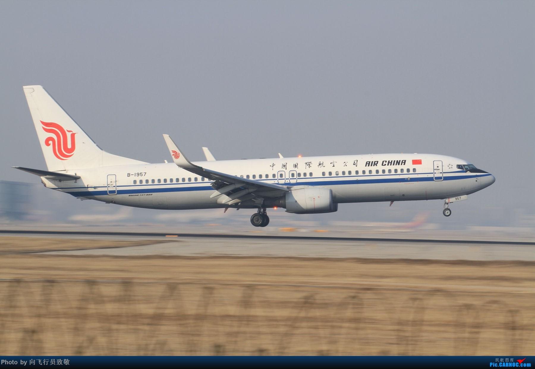 [原创]新手报到请多指教 BOEING 737-800 B-1957 北京首都机场