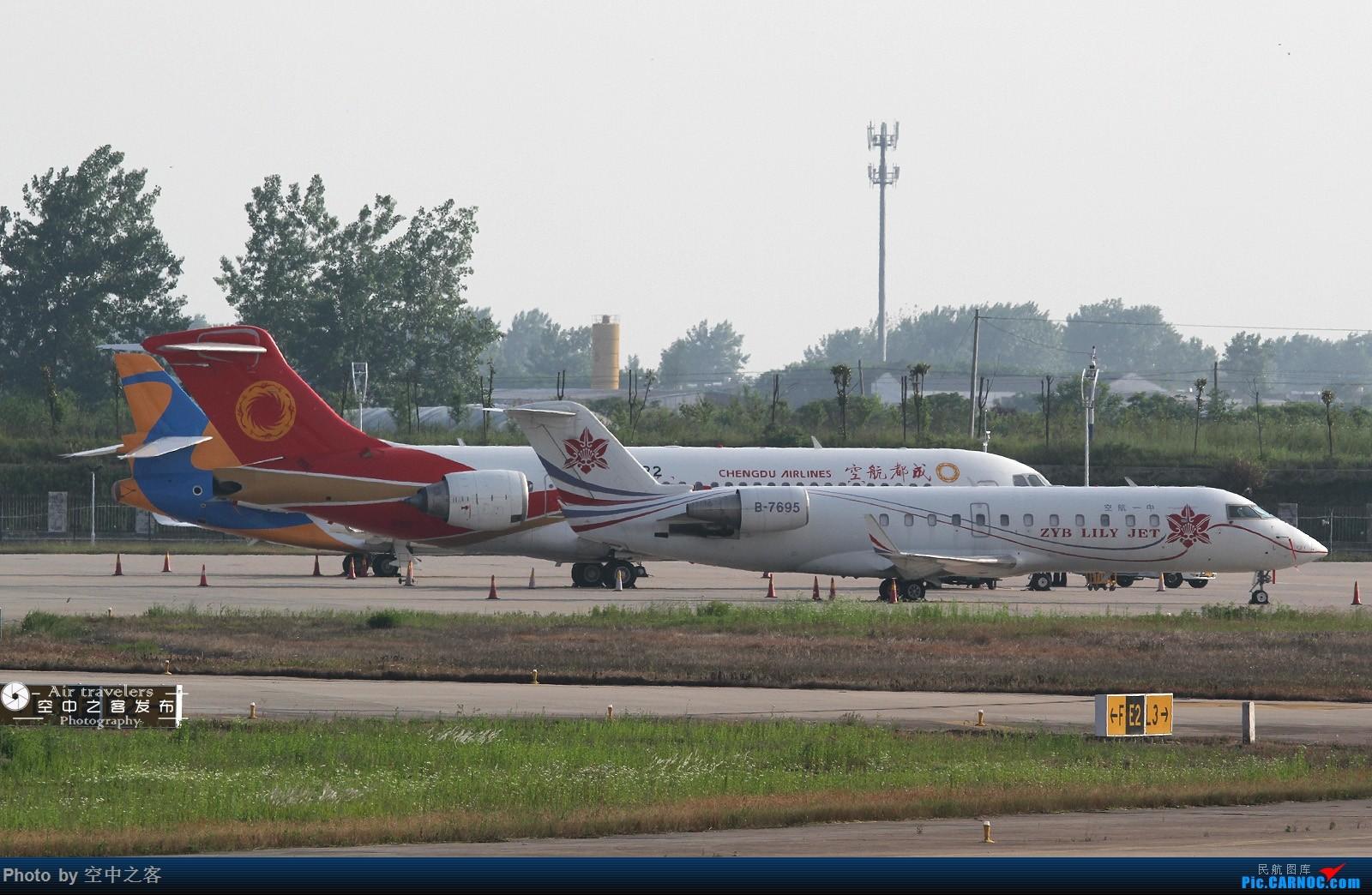 Re:[原创][合肥飞友会-霸都打机队 空中之客发布]@可口可乐 我发图啦! BOMBARDIER CRJ200ER B-7695 合肥新桥国际机场