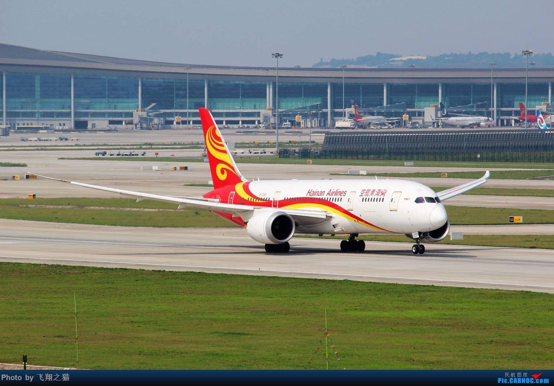 Re:CKG拍机(海航788和789在重庆) BOEING 787-8 B-2739 重庆江北国际机场
