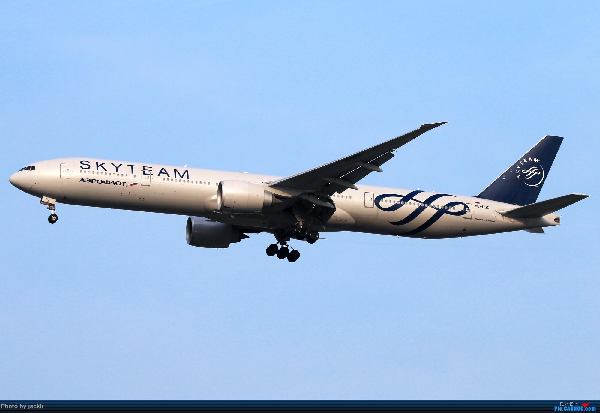 Re:[原创]【JackLi】泰国曼谷素万那普机场拍机~ BOEING 777-300ER VQ-BQG 泰国曼谷素万那普国际机场