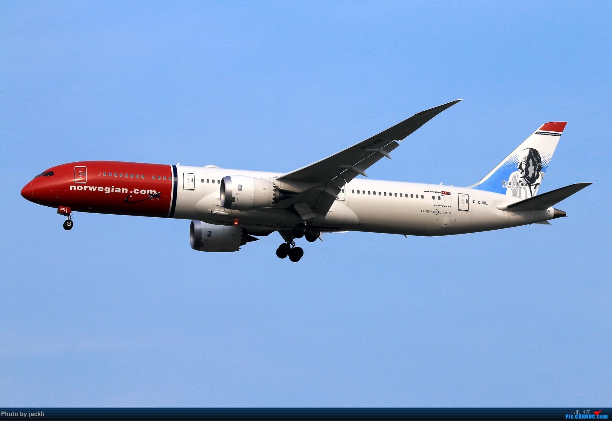 Re:[原创]【JackLi】泰国曼谷素万那普机场拍机~ BOEING 787-9 G-CJUL 泰国曼谷素万那普国际机场
