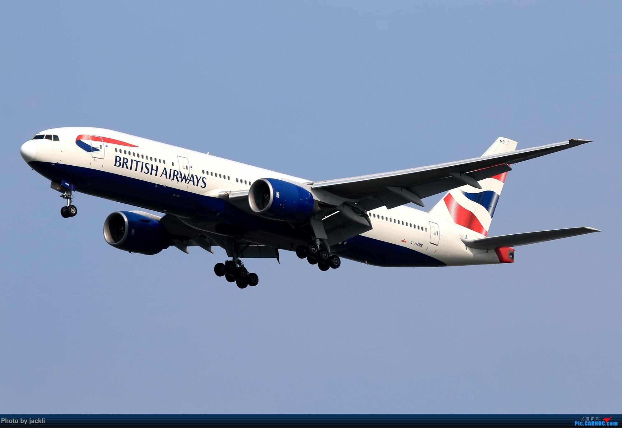 Re:[原创]【JackLi】泰国曼谷素万那普机场拍机~ BOEING 777-200 G-YMMB 泰国曼谷素万那普国际机场