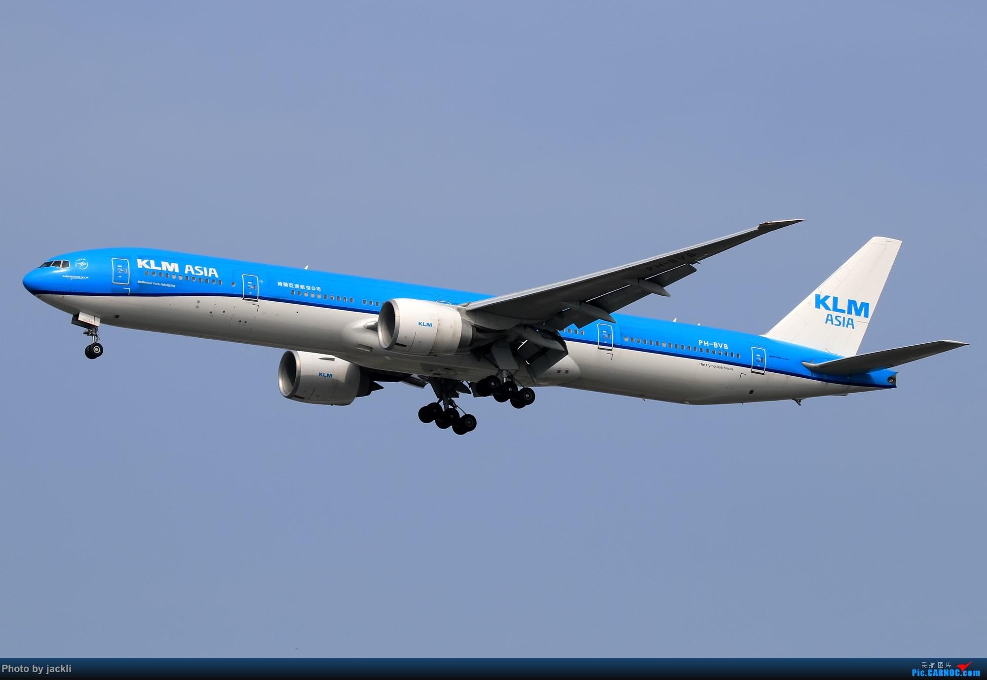 Re:[原创]【JackLi】泰国曼谷素万那普机场拍机~ BOEING 777-300ER PH-BVB 泰国曼谷素万那普国际机场