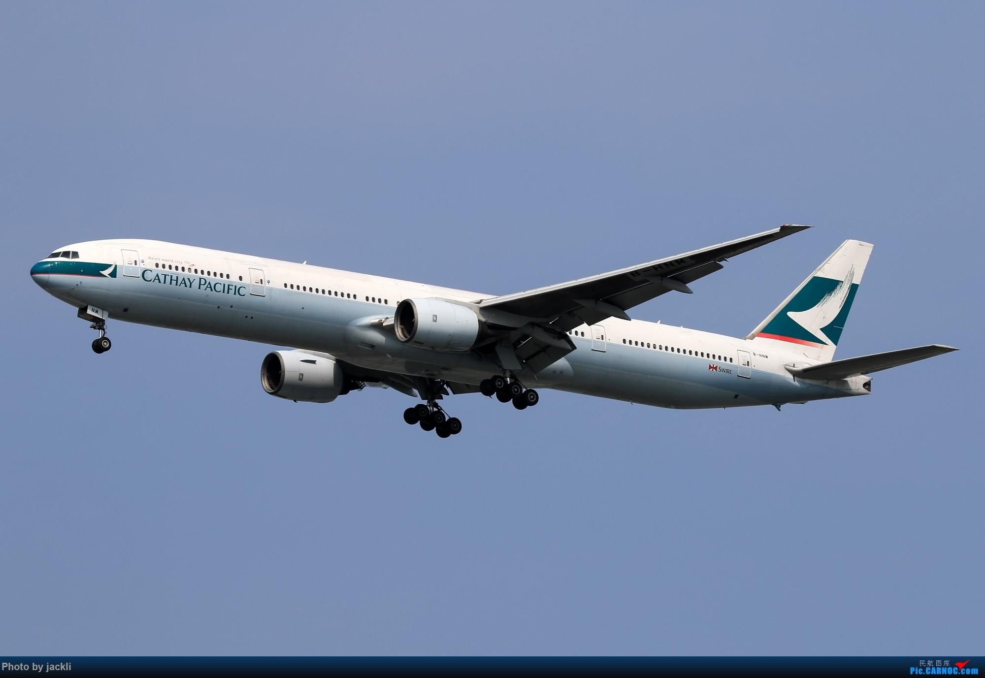 Re:[原创]【JackLi】泰国曼谷素万那普机场拍机~ BOEING 777-300 B-HNM 泰国曼谷素万那普国际机场