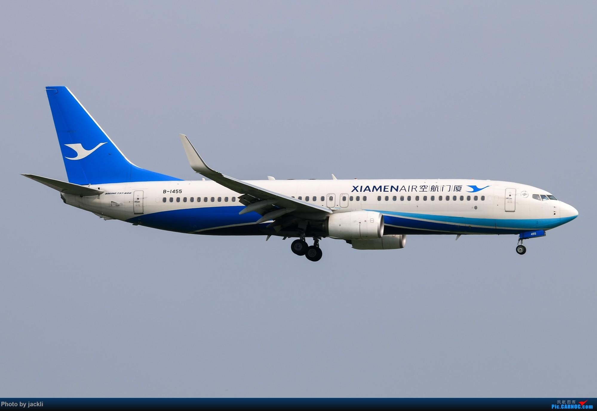 Re:[原创]【JackLi】泰国曼谷素万那普机场拍机~ BOEING 737-800 B-1455 泰国曼谷素万那普国际机场