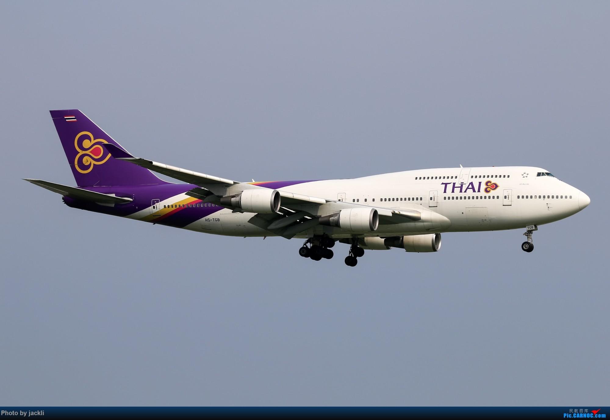 Re:[原创]【JackLi】泰国曼谷素万那普机场拍机~ BOEING 747-400 HS-TGB 泰国曼谷素万那普国际机场