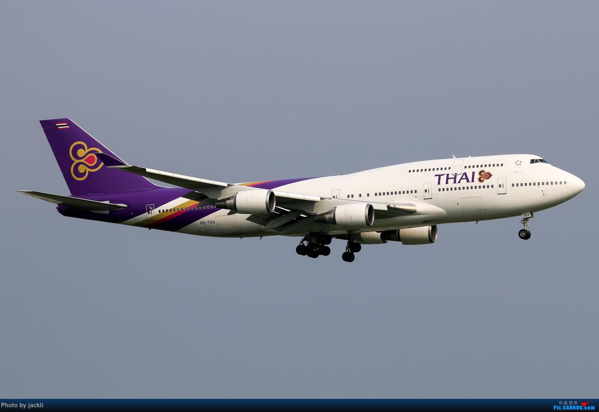 Re:[原创]【JackLi】泰国曼谷素万那普机场拍机~ BOEING 747-400 HS-TGX 泰国曼谷素万那普国际机场