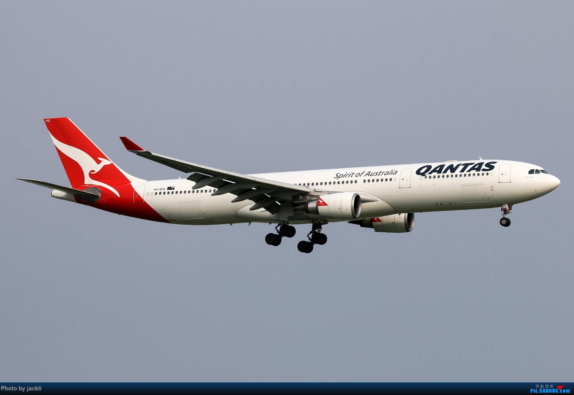 Re:[原创]【JackLi】泰国曼谷素万那普机场拍机~ AIRBUS A330-300 VH-QPG 泰国曼谷素万那普国际机场