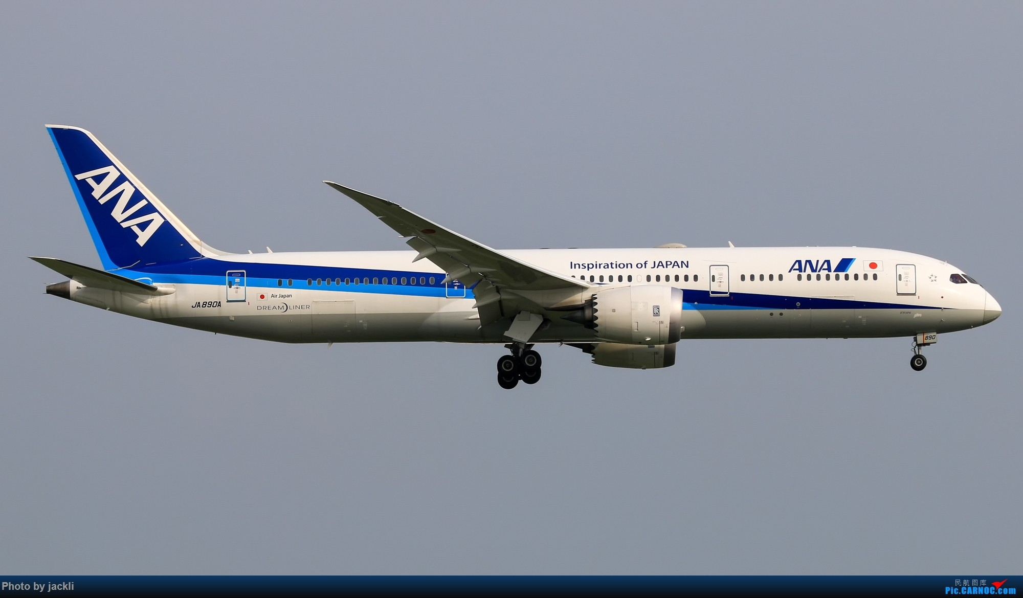 Re:[原创]【JackLi】泰国曼谷素万那普机场拍机~ BOEING 787-9 JA890A 泰国曼谷素万那普国际机场