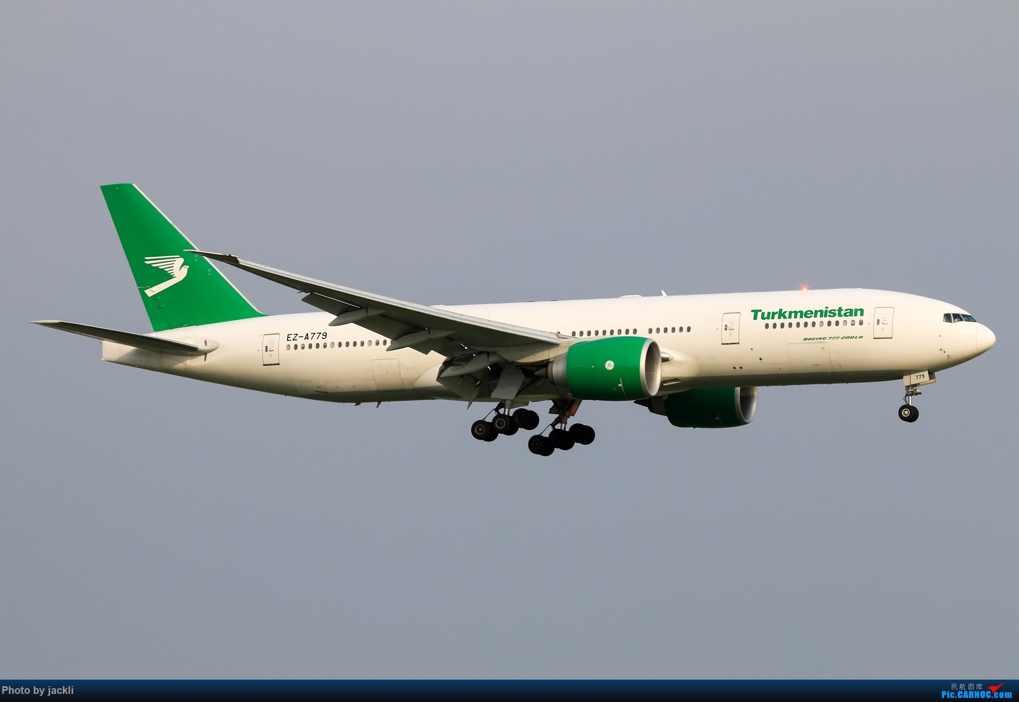 Re:[原创]【JackLi】泰国曼谷素万那普机场拍机~ BOEING 777-200 EZ-A779 泰国曼谷素万那普国际机场