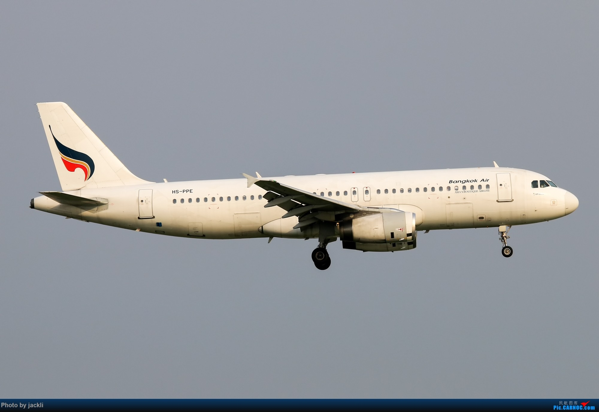 Re:[原创]【JackLi】泰国曼谷素万那普机场拍机~ AIRBUS A320 HS-PPE 泰国曼谷素万那普国际机场